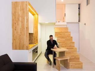 ห้องทานข้าว โดย Beriot, Bernardini arquitectos, มินิมัล