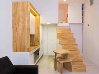Cocinas de estilo minimalista de Beriot, Bernardini arquitectos Minimalista