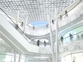 Centro Comercial Milaneo en la plaza Mailänder Platz Centros comerciales de TBI Architecture & Engineering