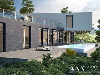 Arquitectos Madrid 2.0 Moderne Häuser