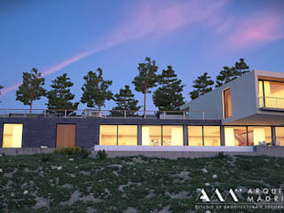 Arquitectos Madrid 2.0 Modern houses