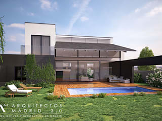 Modern home by Arquitectos Madrid 2.0 Modern
