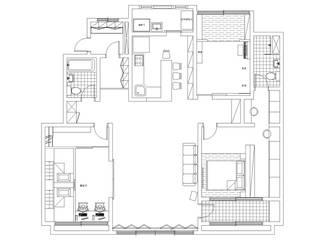 세아이들이 뛰어노는 유니크한 다락방과 다섯식구를 위한 보금자리: 퍼스트애비뉴의 현대 ,모던