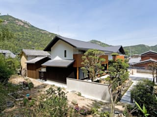 景色と共に生きる家: 株式会社古田建築設計事務所が手掛けた家です。