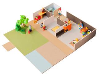 ARQUITECTURA MINI: Dormitorios infantiles de estilo  de PARRAMON + TAHULL arquitectes