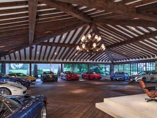 Garajes de estilo  de JR Arquitectos
