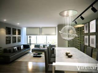 Proyecto Interior:  de estilo  por Virtuark
