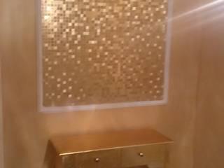 Cuadro de papel pintado efecto dorado: Casas de estilo  de Pinturas Faro