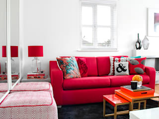 South London Apartment Ruang Keluarga Modern Oleh Bhavin Taylor Design Modern
