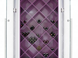 Ice White House-Luxury home Quirke McNamara Minimalist wine cellar