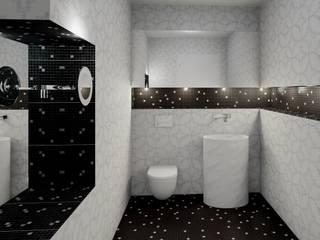 Das klassische-moderne Bad:  Badezimmer von UTH living stone GmbH