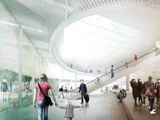 IN BETWEEN MUSEUM Musées originaux par NAS Architecture Éclectique