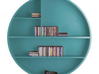 Rundregal stretch... - das moderne und außergewöhnliche Solitärmöbel für alle Wohnbereiche: moderne Wohnzimmer von die COLLECTION