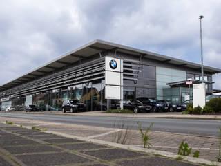 BMW Niederlassung Kilianstrasse Nürnberg:   von Hübsch & Ramsauer Architekten