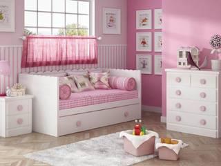 Cama nido para dormitorios infantiles. de Muebles Noel Ibiza SL