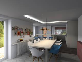 Maison à Ostwald: Maisons de style  par Denitsa Hristova