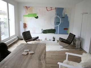 Salon: Maisons de style de style Moderne par Galaktik