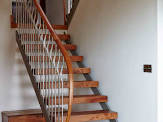 Elm Staircase ref 3601 Bisca Staircases Ingresso, Corridoio & ScaleScale