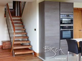 Elm Staircase ref 3601 Bisca Staircases Vestíbulos, pasillos y escalerasEscaleras