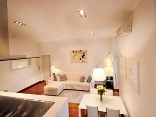 Graphite Casas de estilo minimalista