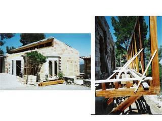 CASA VERNÁCULA MEDITERRANEA: Dormitorios de estilo  de Miguel Angel Blanco Callejpo Arquitecto