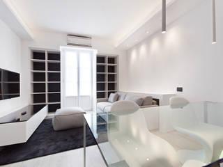 Salones de estilo moderno de Arch. Andrea Pella Moderno