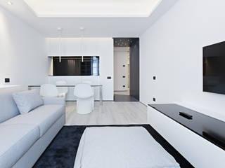 Salon moderne par Arch. Andrea Pella Moderne