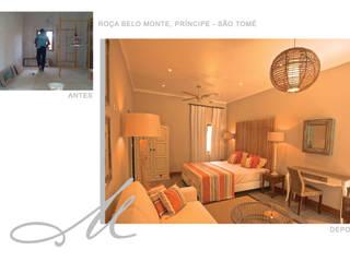 Roça Belo Monte Maria Raposo Interior Design Classic style bedroom