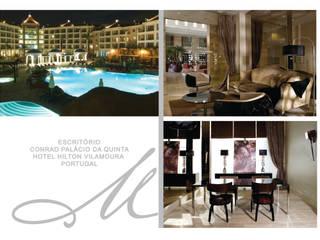 Office - Conrad Palácio da Quinta Maria Raposo Interior Design Espacios