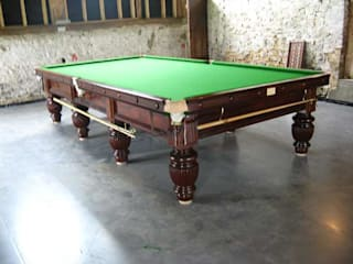 Refurbished 12ft George Edwards snooker table:   by John Bennett (Billiards) Ltd