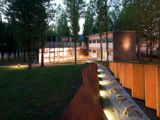 TERMOVALORIZZATORE DI POGGIBONSI - SIENA:  in stile industriale di Studio Nepi Terrosi Associati, Industrial