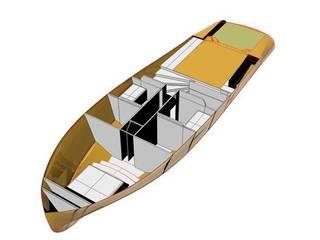 Minimalistische Yachten & Jets von studiooxi Minimalistisch