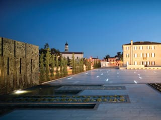 Open Public Place in Povegliano (TV) by MICROSCAPE architecture_urban design AA