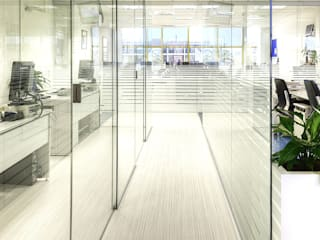 Modern offices & stores by estudio KAW Modern