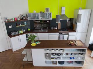 Berlin Interior Design Eclectic style kitchen
