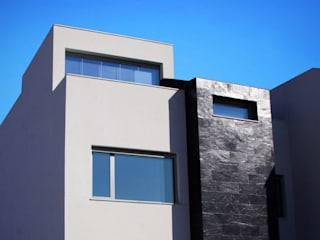 Casa Des-quadrada Espacios de Carquero Arquitectura