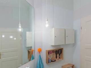 Berlin Interior Design Scandinavian style bathroom