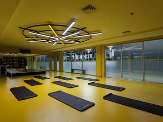 Moderner Fitnessraum von CO Mimarlık Dekorasyon İnşaat ve Dış Tic. Ltd. Şti. Modern