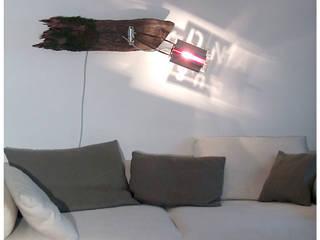 Lichtobjekt im Wohnbereich von Lichtarbeiten