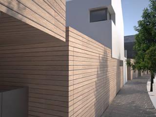 Casa B e C di Studio 3xL Moderno