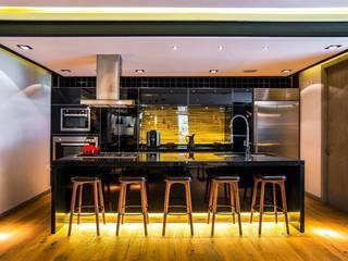 ausgefallene Küche von Sobrado + Ugalde Arquitectos