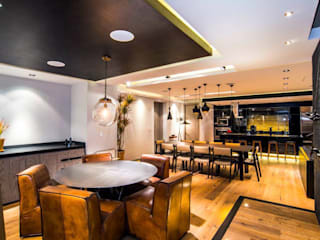 Dining room by Sobrado + Ugalde Arquitectos,