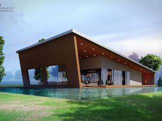 Houses by CO Mimarlık Dekorasyon İnşaat ve Dış Tic. Ltd. Şti., Modern