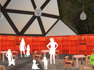 Parque Jardines de invierno industriales de City Ink Design Industrial