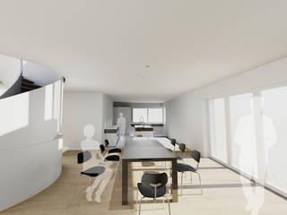 Einfamilienhaus in Gauting von Architekturbüro Chylek Minimalistisch