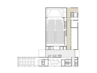 Casa de la cultura en A Bir El Djir, Argelia Escuelas de estilo moderno de TAMA ESTUDIO Moderno