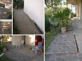 Sistemazioni esterne villa. Giardino rurale di Albini Architettura Rurale