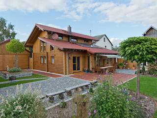 Blockhaus Bösshenz:  Häuser von BayernBlock - HultaHaus