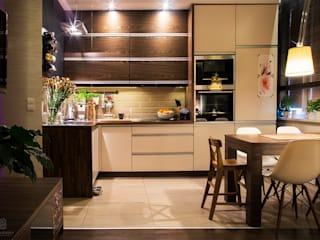 Modern style kitchen by k.halemska Modern