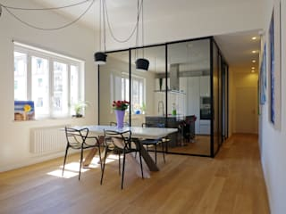 Casa A1: Soggiorno in stile in stile Moderno di Studio Associato 3813